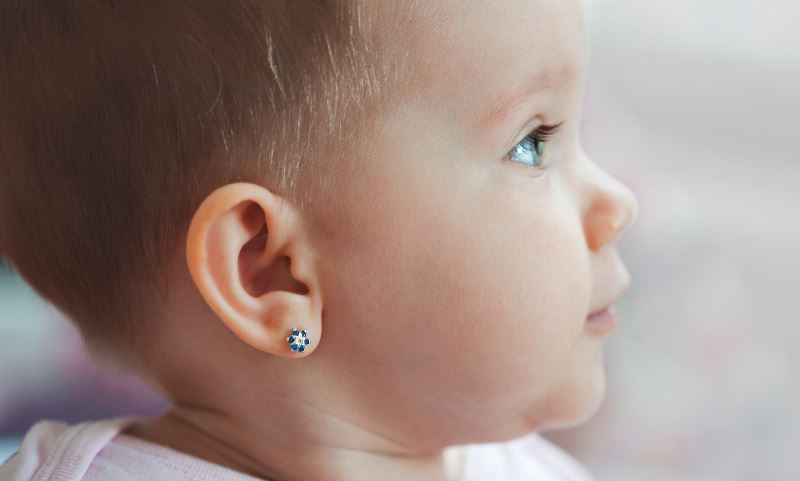 Baby Ear Piercing Tips Age Infection Aftercare Locations